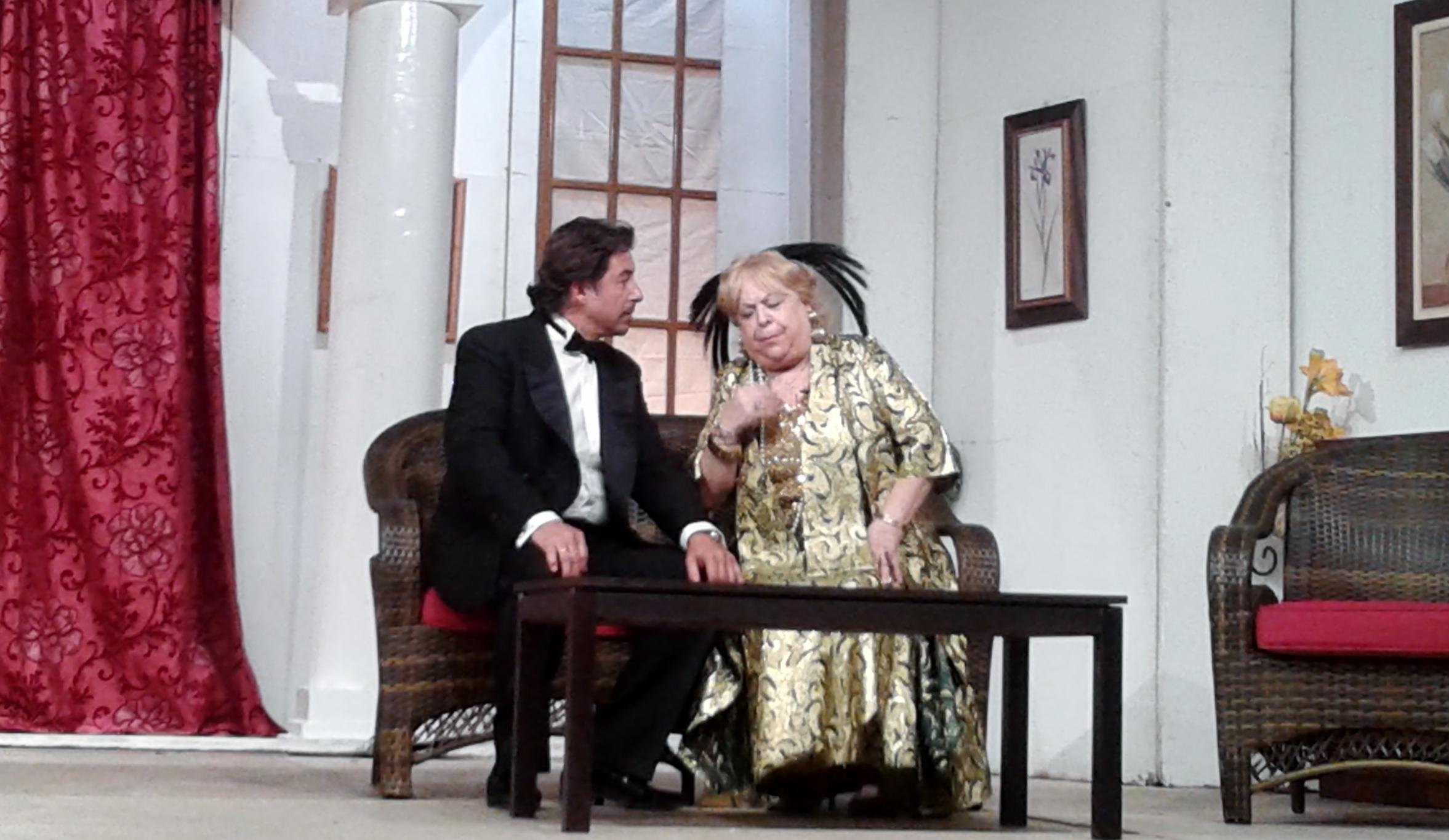 Manuelica y Alfredo